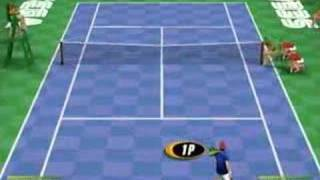 Virtua Tennis 2k2 Intro and Gameplay (Dreamcast)