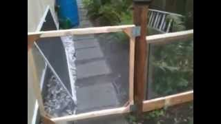 How To Build Dog Gates Indoor Outdoor Use Ready Made Soil Screen