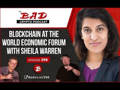 Blockchain At The World Economic Forum With Sheila Warren