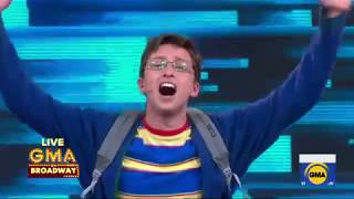 Will Roland and the cast of 'Be More Chill' perform 'More Than Survive' live on 'GMA'