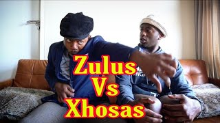 How Zulus tell a story VS How Xhosas tell a story - LEON GUMEDE