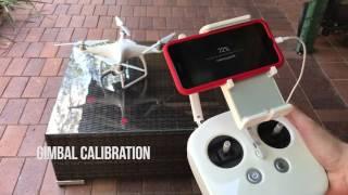 Phantom 4 gimbal calibration resetting