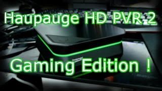 Hauppauge HD PVR 2 Gaming Edition Unboxing & First Look - Record Xbox One and PS4 Gameplay !  [4K]