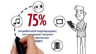 Видео для бизнеса. Как привлечь клиентов. Как увеличить продажи с анимационными роликами.