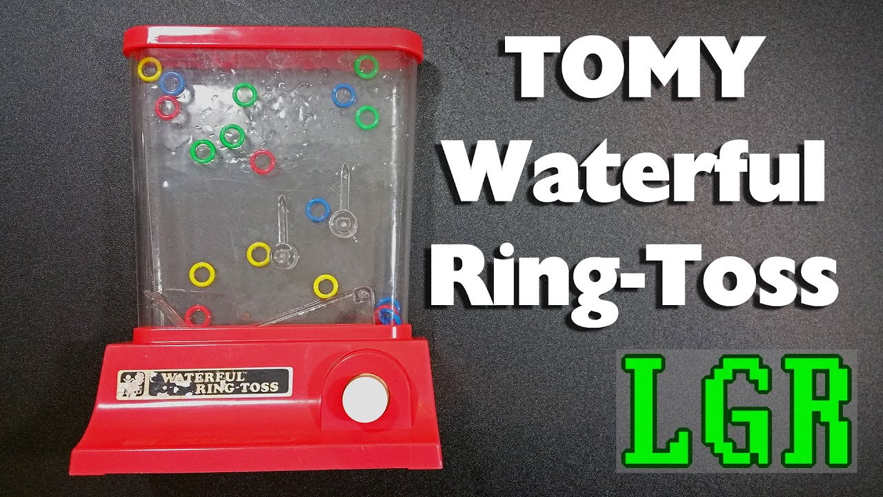 Waterfall Ring Toss Game