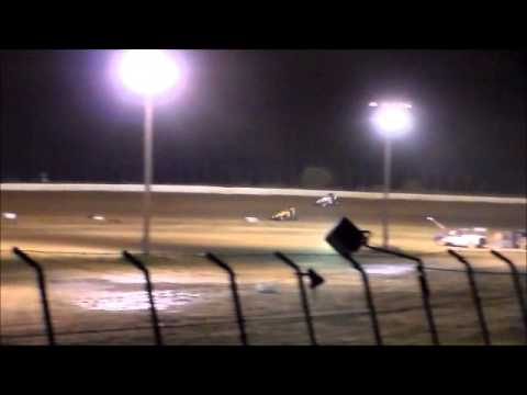 Matt Humphrey- Feature at Clay County Speedway 5-17-14