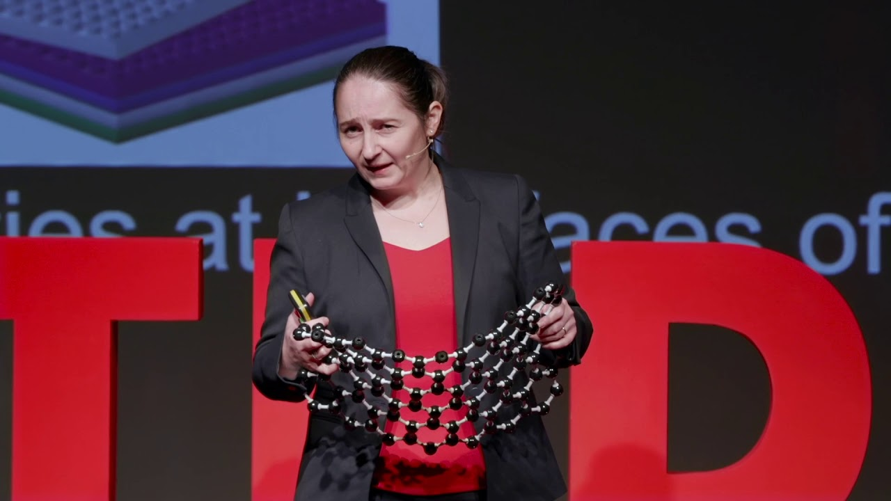 Prof Craciun and Dr Dimov present Concrene® at TED