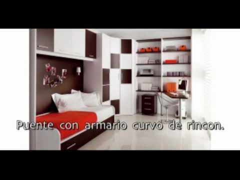 Muebles juvenil camas nidos compactos habitacion - Muebles compactos juveniles ...