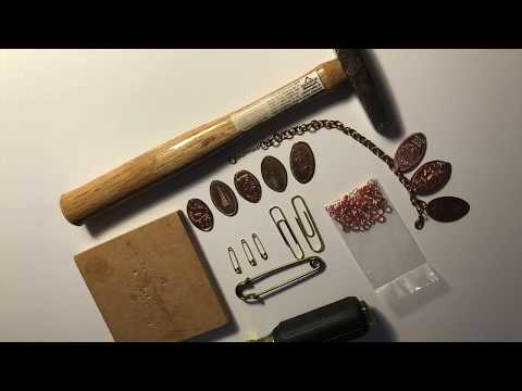 Craft With Me:  Pressed Penny charm