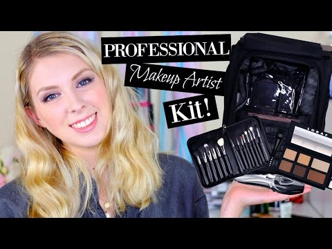 Updated What's In My Professional Freelance Makeup Artist Kit 2017 | ColorMeCassie