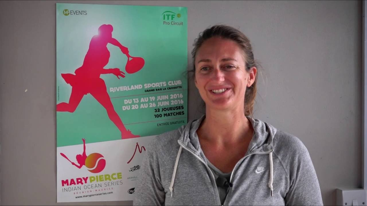 Entretien de Mary Pierce Interview of Mary Pierce