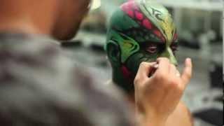 """Making of """"Quetzalcóatl"""" de Aarón Blanco"""