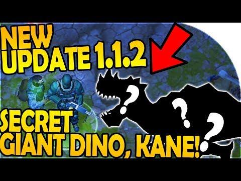 NEW UPDATE 1.1.2 - SECRET GIANT DINO, KANE RETURNS + NEW QUEST - Last Day on Earth Jurassic Survival