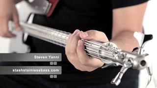 Steven Yanni - Stash (Stash Stainless Steel Bass Demo)