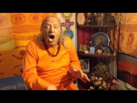 Laughing yoga for at work with Yogi Ramesh