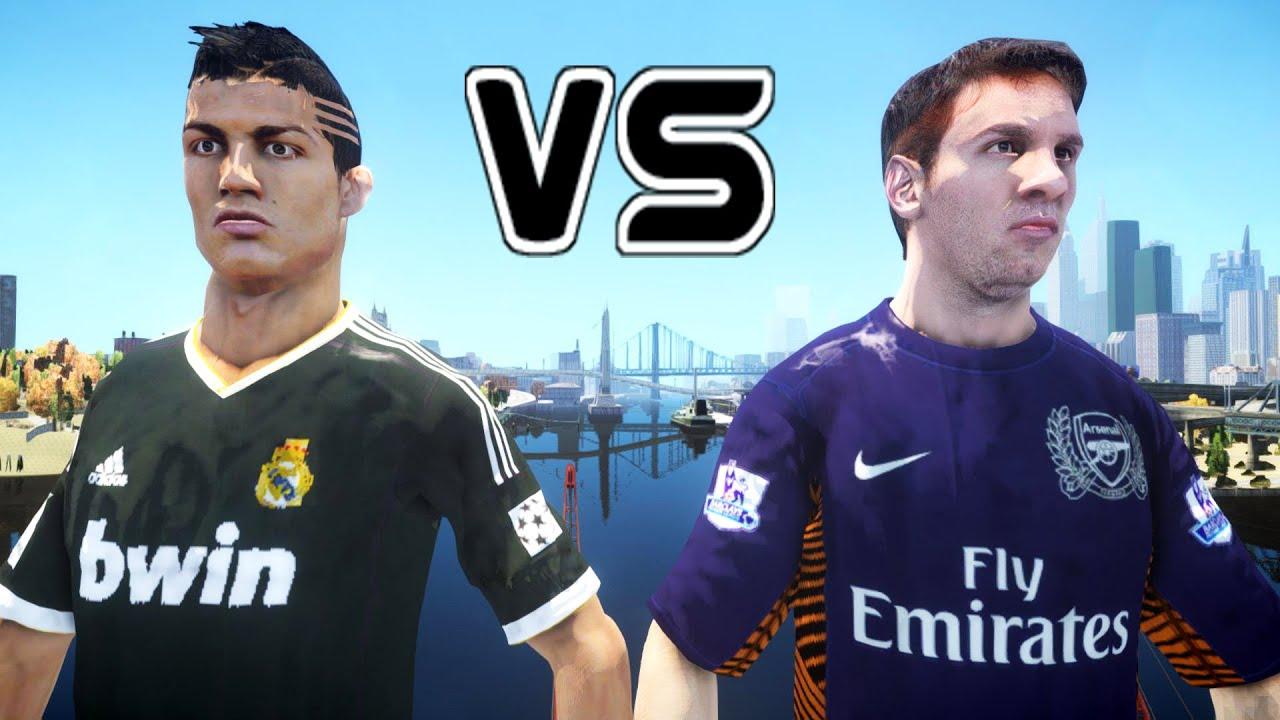 RONALDO vs MESSI - Cristiano Ronaldo FIGHTS Lionel Messi - YouTube
