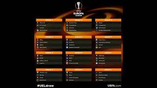Tirage au sort Europa League phase de poule 2018