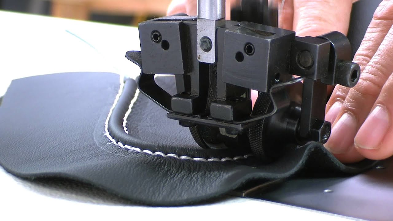 How to sew shoes