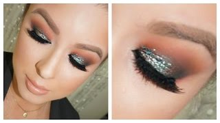 Smokey Eye Tutorial: Sparkly Teal Thumbnail
