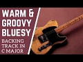 Warm & Groovy Bluesy Guitar Backing Track in D Minor