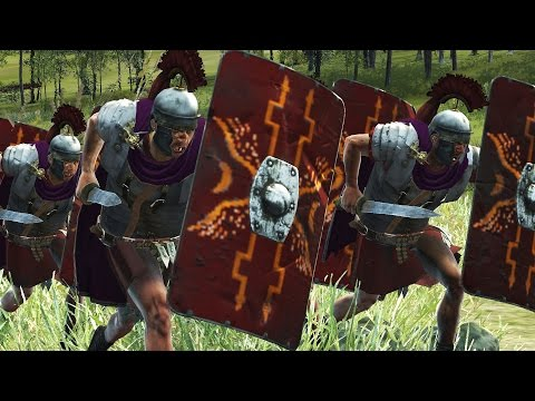 300 ROMAN VS 3000 SLINGER - MASSIVE BATTLE TOTAL WAR ROME 2