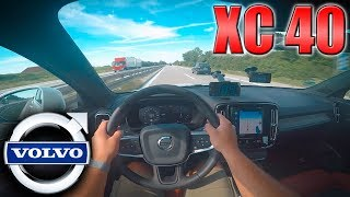 0-230km/h   Volvo XC40 T5 AWD   POV- TOP SPEED and Acceleration TEST ✔