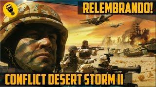 Relembrando CONFLICT DESERT STORM 2 PT-Br. (PS2 Gameplay).