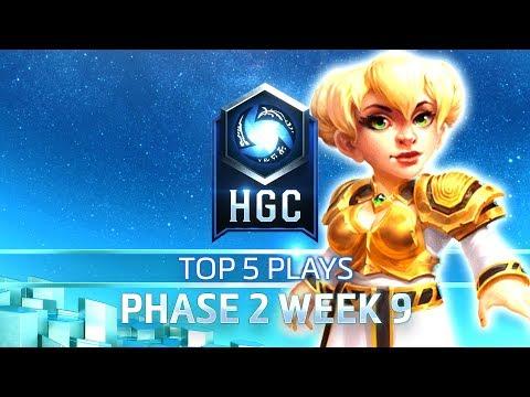 HGC Top 5 Plays Phase 2 Week 9
