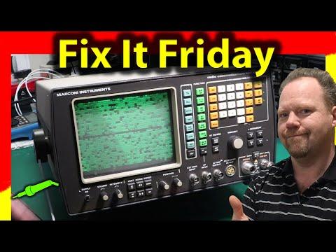 🔴 #627 Marconi 2955 Repair Part 1 - Marconi 2955 Communications Test Set Teardown