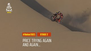 #DAKAR2021 - Stage 2 - Price trying again and again...