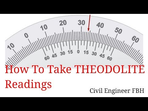 HOW TO CALCULATE  VERNIER  READINGS OF THEODOLITE AND LEAST COUNT  #THEODOLITE  PART (IV)