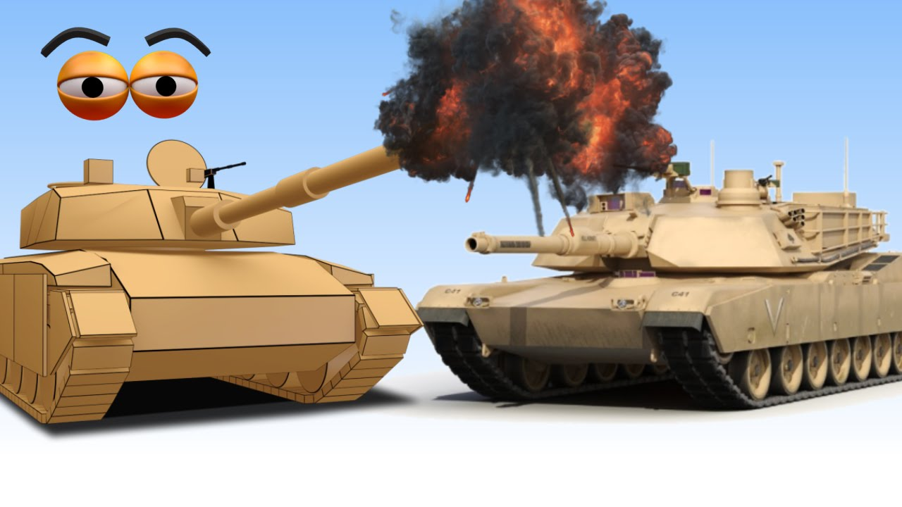Cube builder for kids hd build an army tank for children aapv youtube - Army tank pictures ...