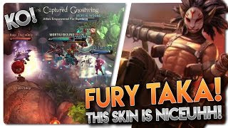 FURY TAKA SKIN GAMEPLAY!! Vainglory 5v5 Gameplay - Taka |CP| Jungle Gameplay
