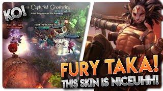 FURY TAKA SKIN GAMEPLAY!! Vainglory 5v5 Gameplay - Taka  CP  Jungle Gameplay