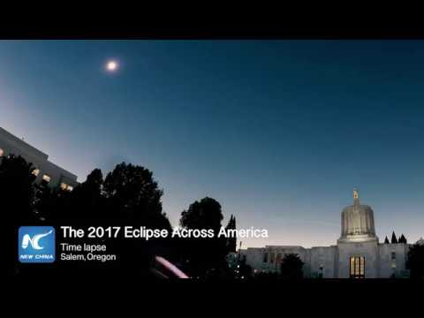 Time lapse: Solar eclipse 2017, Salem, Oregon