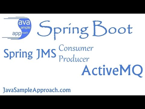 How to use Spring JMS with ActiveMQ – JMS Consumer and JMS