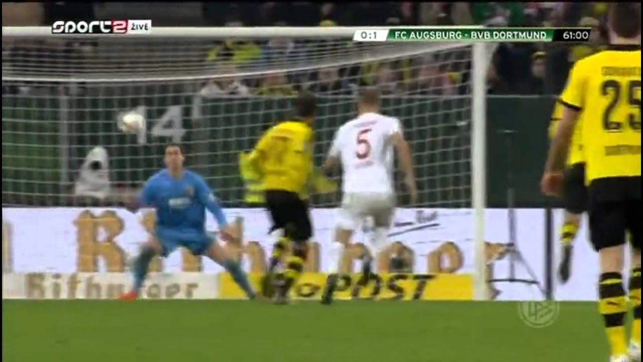 Download Augsburg vs Borussia Dortmund 0-2 All Goals 2015 DFB-Pokal