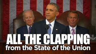 SOTU: All the clapping from the State of the Union