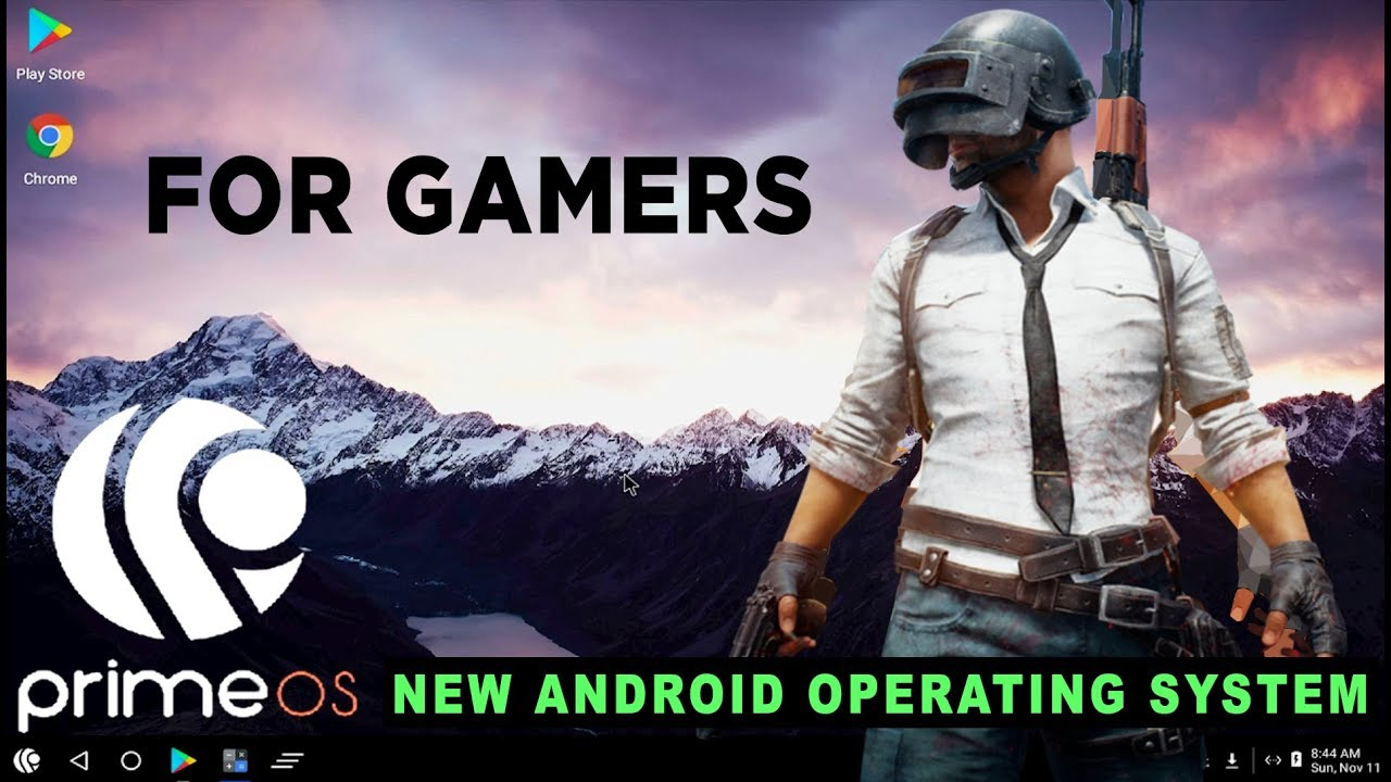 PrimeOS New Android OS Alternative Of Phoenix OS and Remix OS For PUBG  Mobile