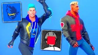 I recreated Youtubers Skins in Fortnite..! (PewDiePie, Ninja, Lazarbeam)