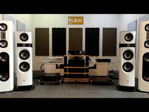 FOCAL  SOPRA  No.3 + Naim Uniti Star + Naim NAP 500DR + Life Audio