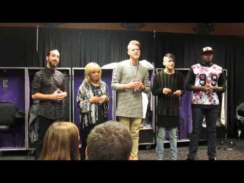 Pentatonix - Valentine Private Performance - Staples Center LA 8/19/15