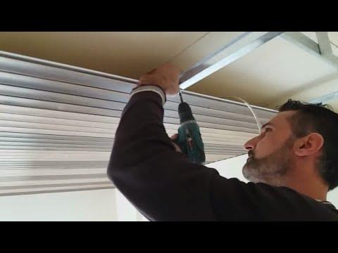 Poser Un Faux Plafond Pvc Youtube