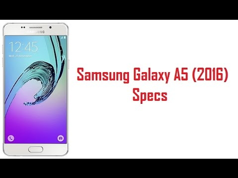 Samsung Galaxy A5 2016 Specs, Features & Price