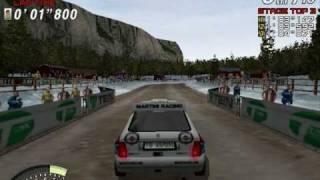Sega Rally 2 - Arcade Mode on PC
