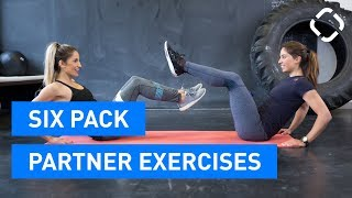Six Pack Exercises with a Partner - ABS ON FIRE!