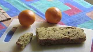 Vegan Orange Cake ( With Macros, High Carb/low Fat, Gluten Free)