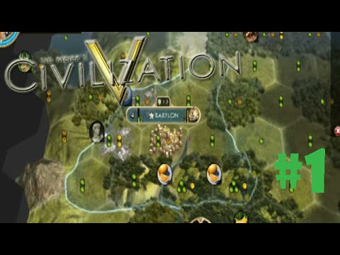 Civilization 5 BNW- #1 - BABYLON!