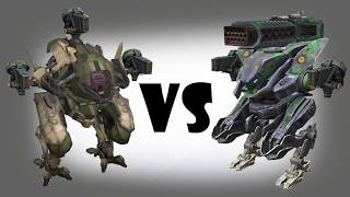 Pursuer (gust) vs Strider (gust,thunder) Test | War Robots