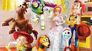 История игрушек 4 Вуди и Друзья Пазлы - TOY STORY 4 Disney Pixar PUZZLE Rompecabezas de Toy Story 4